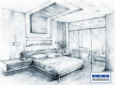 sketch of a bedroom interior design sketches living room google search