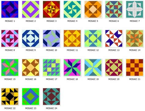 mosaic pattern blocks mosaic quilt block patterns quilts and such pinterest