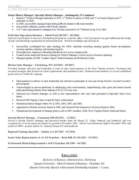 test manager resume sles pharmaceutical sales manager resume