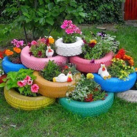 Tire Garden Ideas Best 20 Tire Garden Ideas On