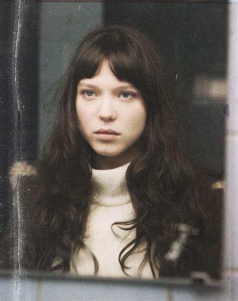 lea seydoux black hair 35 best images about la belle personne on pinterest