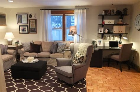 ikea usa living room check out how the ikea home tour squad turned an underused back room into a true family room in