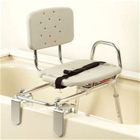 swivel seat sliding bath transfer bench eagle health tub mount sliding transfer bench w swivel