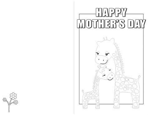 Toddler Happy Mothers Day Card Microsoft Template by Create A Card Happy S Day Free Printable