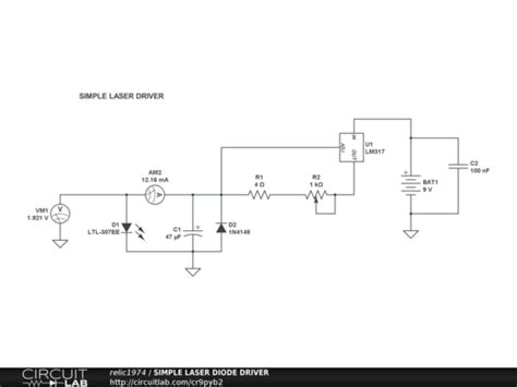 laser diode driver circuit laser diode driver schematic laser free engine image for user manual