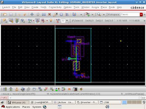 inverter layout design cadence zoha usmani introduction
