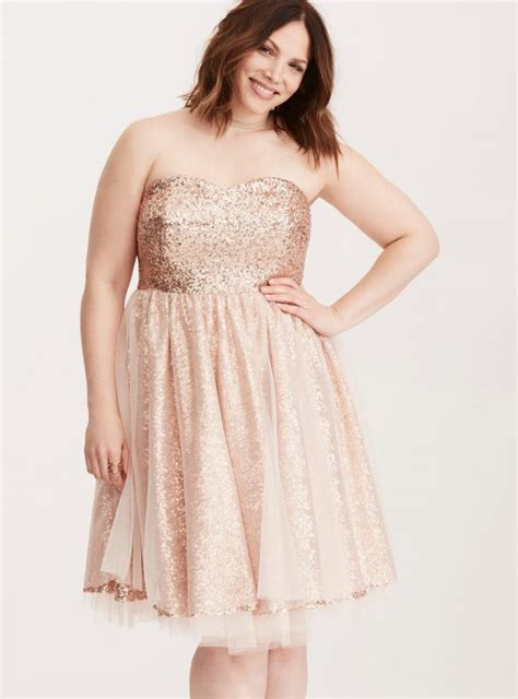 Flow Sequin Dress For Big Size by My Favorite Plus Size Dresses Flow