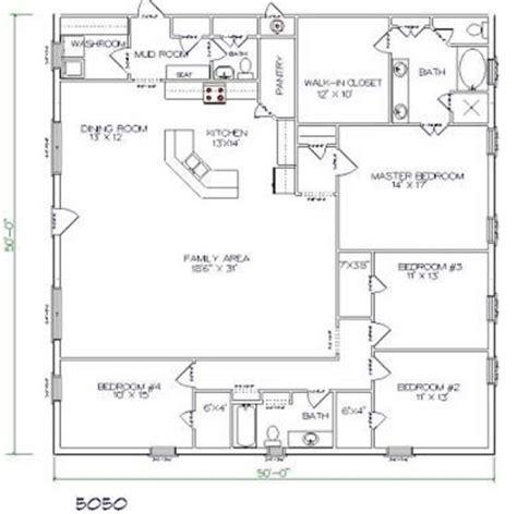 4 bed 4 bath floor plans top 20 metal barndominium floor plans for your home