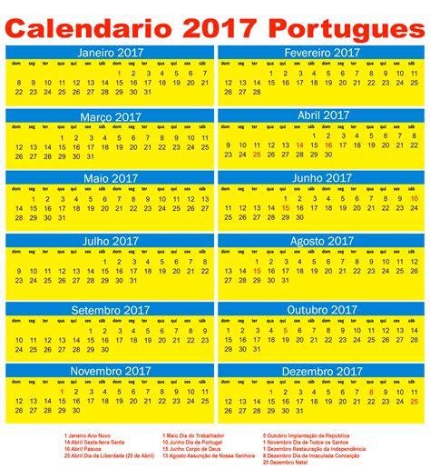Calend 2016 E 2017 Portugal Feriados Calend 225 2017 Feriados Para Baixar E Imprimir Toda