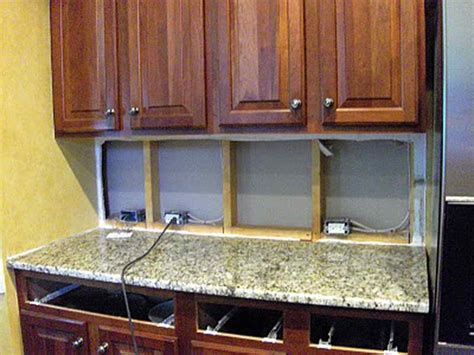 how to install under cabinet lighting in your kitchen planning ideas the advantages of installing under