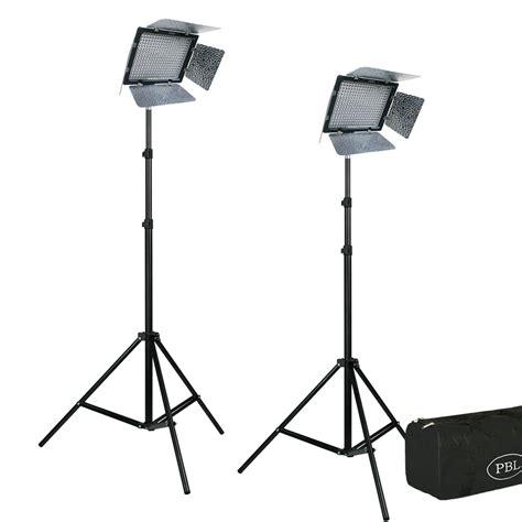Yongnuo Yn 600 yn 600 yongnuo 3200k 5500k led lighting kit with batteries and remote