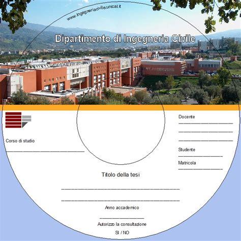 sedute di laurea ingegneria unical cover per cd rom tesi di laurea settore didattica