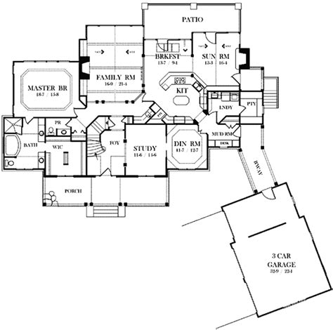 grand staircase 80426pm architectural designs house grand staircase welcome 26657gg architectural designs