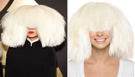 does sia wear a wig why does sia wear a wig hairstylegalleries com