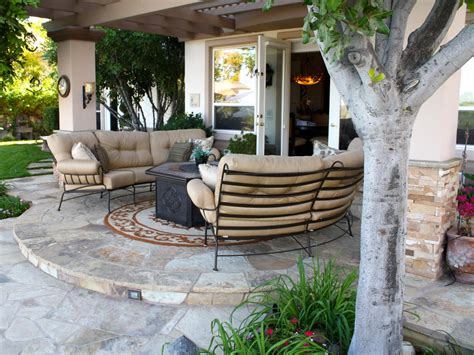 patio area 20 wow worthy hardscaping ideas landscaping ideas and hardscape design hgtv