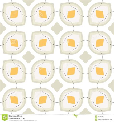 20973 Bold Retro Pattern S M L pattern with bold stylized flowers in 1970s style stock