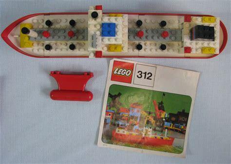 lego boat vintage lego vintage tanker ship set 312
