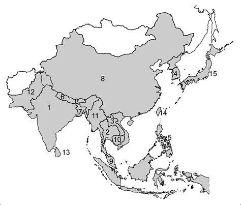 monsoon asia map monsoon asia map