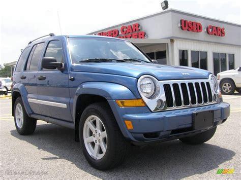 liberty colors 2006 atlantic blue pearl jeep liberty limited 4x4