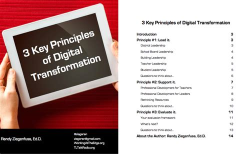 the winning edge 8 principles that will bring out the winner in you books 3 key principles of digital transformation ebook working