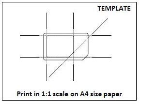 Micro Sim Template Print by Can A Regular Sim Be Cut To A Micro Sim Telstra