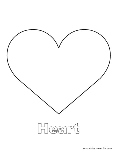 coloring page of a heart shape printable heart shape coloring pages like success