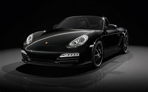 black porsche porsche boxster s black edition power of attraction
