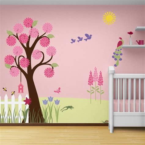 Kinderzimmer Gestalten Baum by Wandmalerei Im Kinderzimmer Ein Entz 252 Ckendes Ambiente