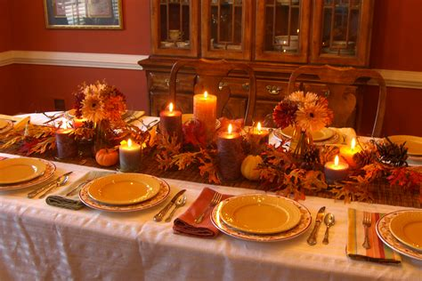 Hotel Reservation Beautiful Thanksgiving Table Decorations