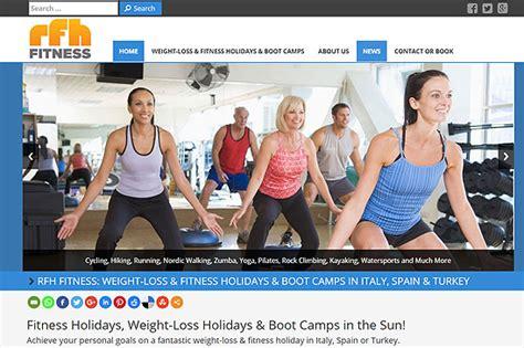 design hr html portfolio rfh fitness sapa web dizajn