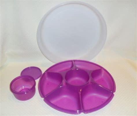 Tupperware Serving Center tupperware large serving center set purple food savers kitchen dining