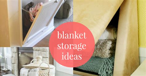 nice Beach Themed Living Room On A Budget #4: Easy-Ways-to-Store-Blankets-fb-@Remodelaholic.png
