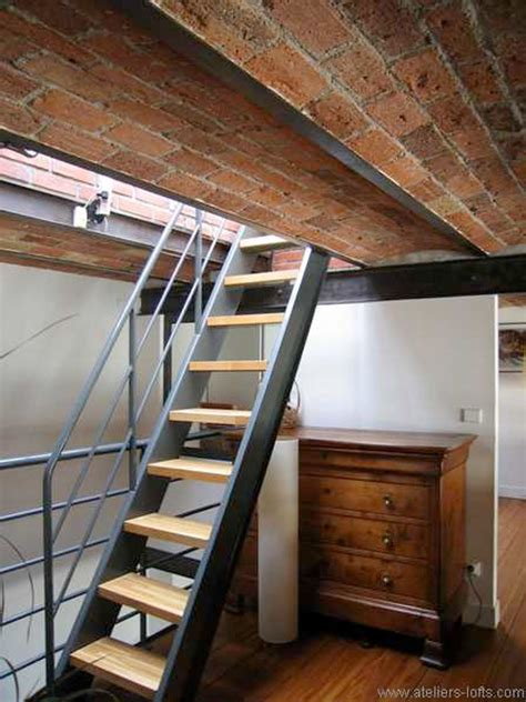 Attic Stairs Design 27 Stair Design Ideas To Organize Your Loft Loft Stairs Lofts And Small Spaces