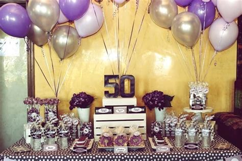 take away the best 50th birthday ideas for