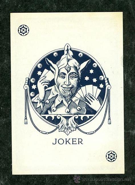 imagenes joker cartas carta naipe joker comprar barajas cl 225 sicas en