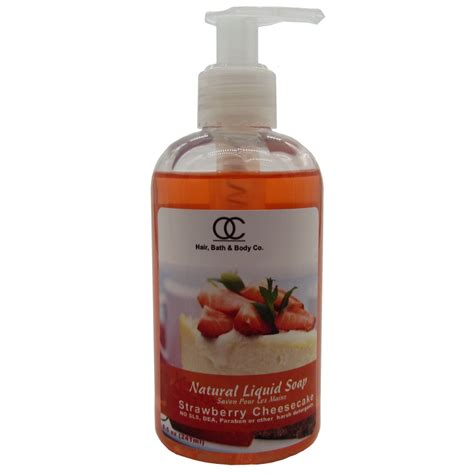 Liquid Buck S Strawberry 1 liquid soap strawberry cheesecake liquid soap