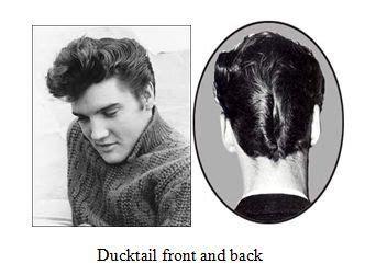 da haircut 1950s ducktail google searrrch grease inspiration