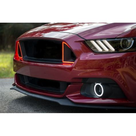Ford Mustang Gt External Waterproof White Amber