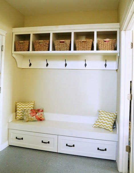 ana white mudroom bench trundle drawers for the quot momplex quot mudroom bench entryway