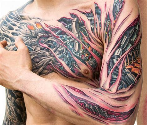 small tattoos that mean a lot 3d biomechanical tattoos bio robot with a lot of
