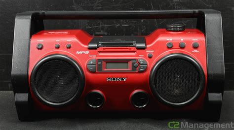 rugged boombox sony zs h10cp personal audio system cd radio player boombox aux mp3 rugged ebay