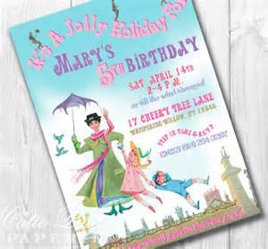 poppins invitations printable custom invitations