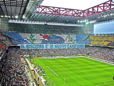 san siro away section ファイル san siro stadium inter fans derby 2009 jpg wikipedia