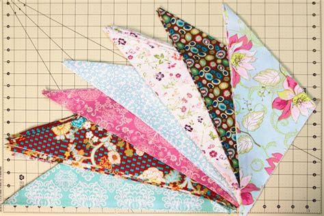 pat bravo design piecing triangles in quilts