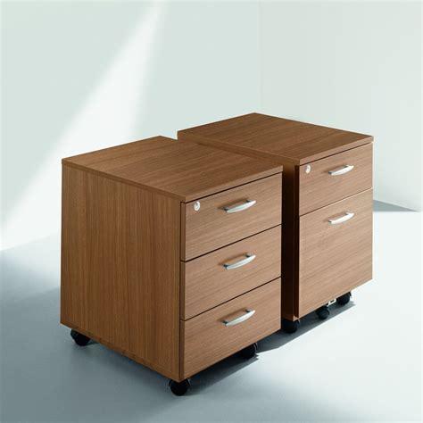 cassettiera wood caisson de bureau en lamin 233 avec