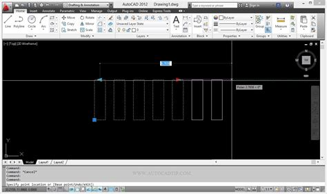 tutorial autocad dynamic blocks array action tutorial in dynamic block autocad