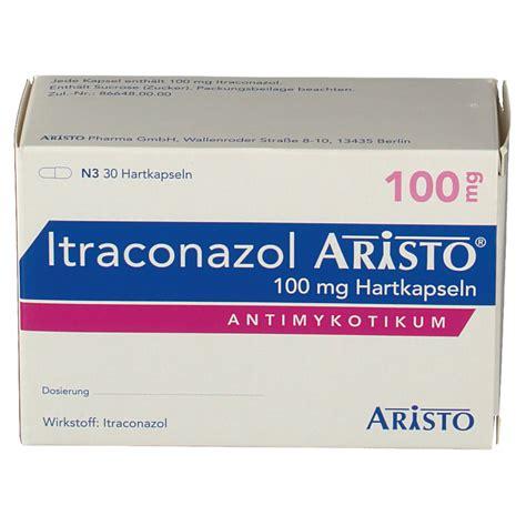 Itraconazol 100mg itraconazol aristo 100 mg hartkapseln shop apotheke