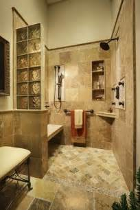Accessible Bathroom Design Ideas Walk In Shower Love The Built In Bench Cubby And Corner