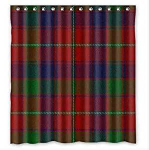 Tartan Plaid Curtains Sale Scottish Tartan Plaid Pattern Custom 100 Polyester Waterproof
