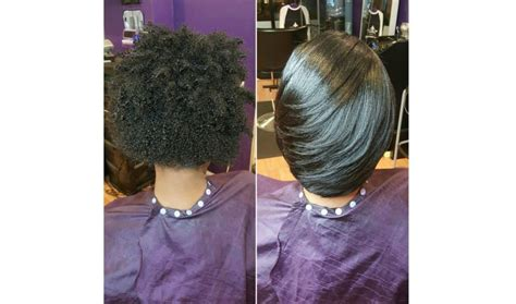 Pictures Of Wrap Hairstyles | the silk wrap treatment straight hair without the heat